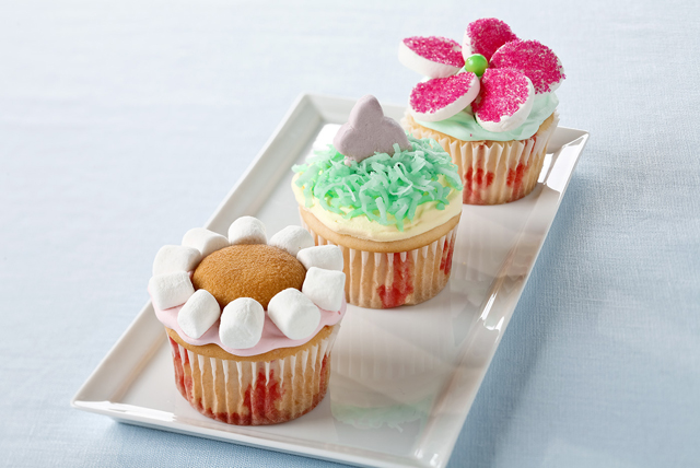 Flower Garden Cupcakes Image 1