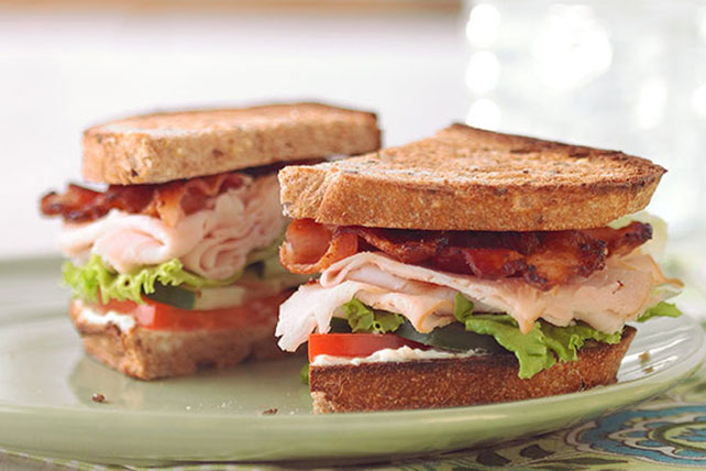 Garden-Style Club Sandwich - Kraft Recipes