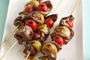 Steak-Ranch Kabobs