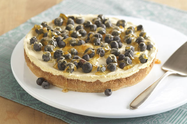 "Fresh Blueberry ""Flan"""