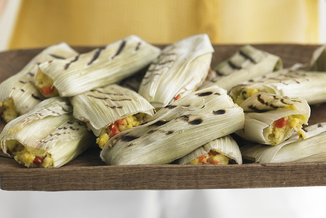Grilled Corn Tamales Image 1