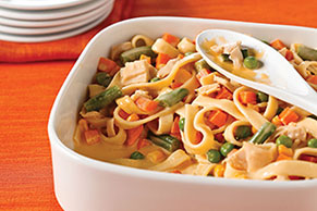 Tuna Noodle Casserole with Vegetables