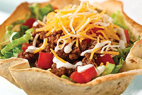 Weeknight Taco Salad