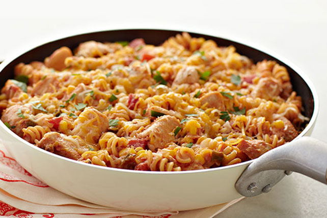 South-of-the-Border Chicken & Pasta Skillet Image 1