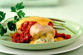 Italian-Style Chicken Roll-Ups
