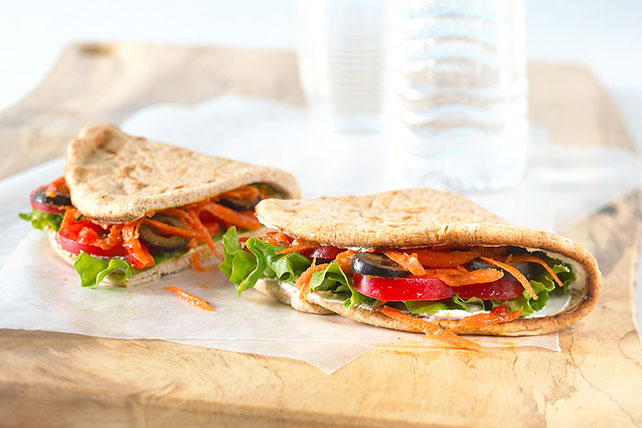Veggie-Packed Pita Pocket