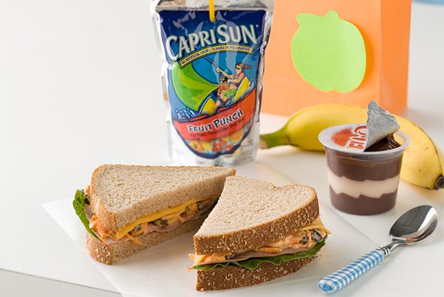 Creamy and Crunchy Ham Sandwich Image 1