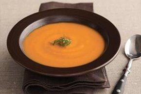 Soupe à la carotte et au fenouil