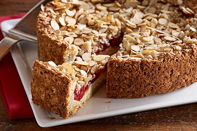 Pastel para el café de cerezas y queso crema Image 1