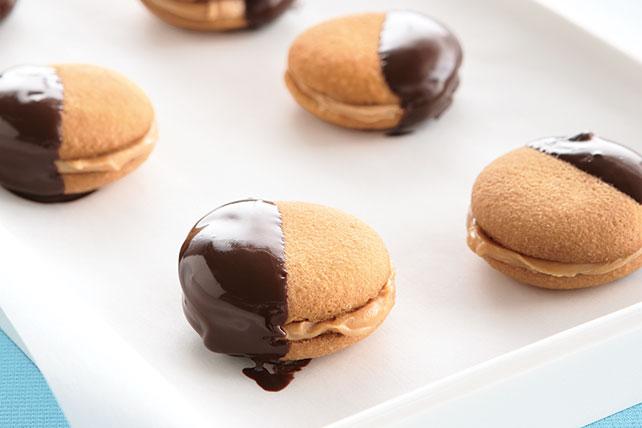 Galletas con cacahuate y chocolate Image 1