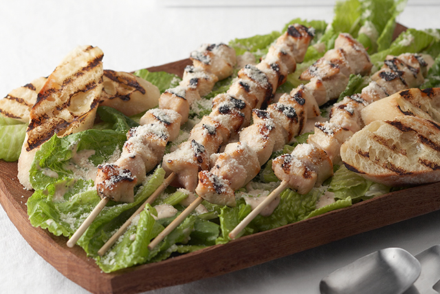 Grilled Chicken Caesar Salad - Kraft Recipes