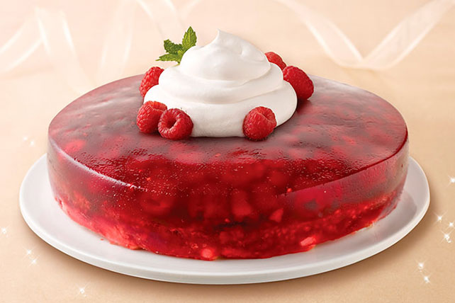 Raspberry Angel Cake Image 1