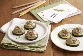 Cucumber-Tuna Bites