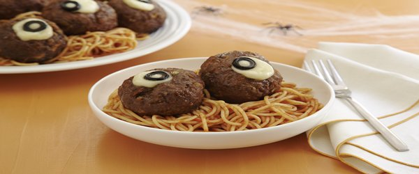 "Spaghetti and ""Oozing Eyeballs"""