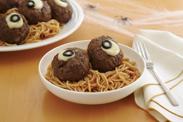 "Spaghetti and ""Oozing Eyeballs"" Image 1"