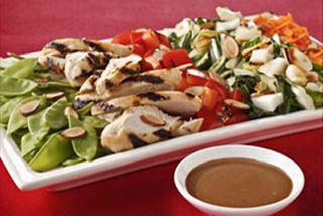 Asian-Style Cobb Salad with Sesame Grilled Chicken Image 1