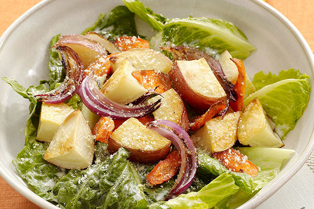 Ranch Salad with Roasted Vegetables Image 1