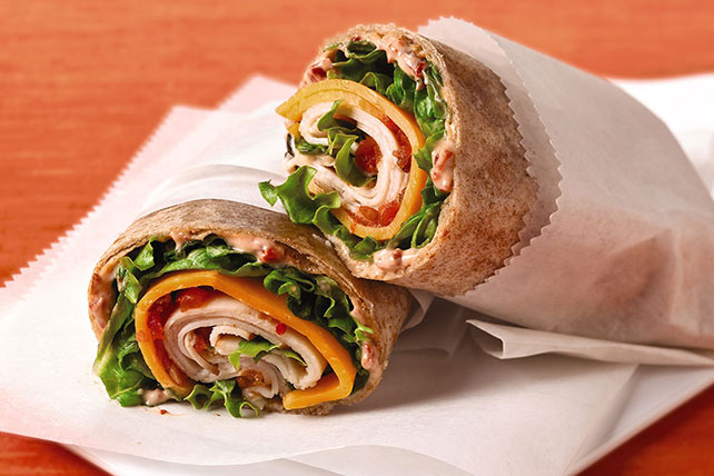 Adobo Chicken Wrap Image 1