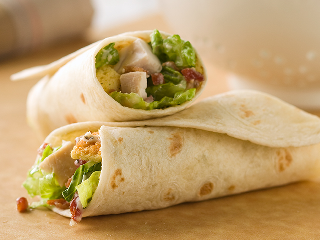 Chicken Caesar Wraps Image 1