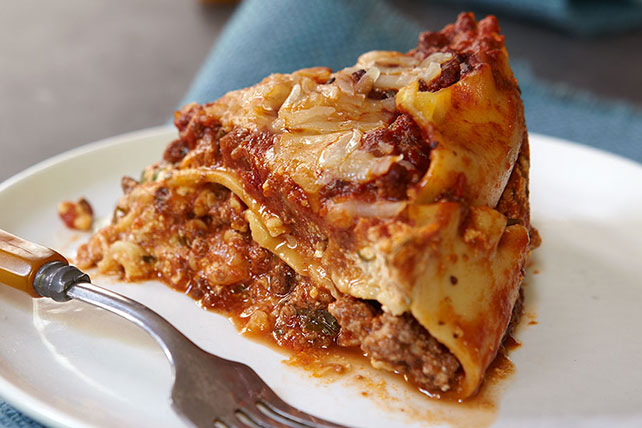 Slow-Cooker Lasagna Dinner Menu