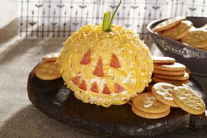 Cheesy Jack-o'-Lantern