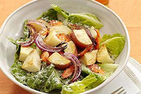 Ensalada ranchera con vegetales asados