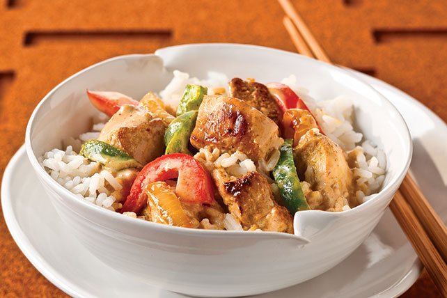 Thai Curry Chicken & Rice Image 1
