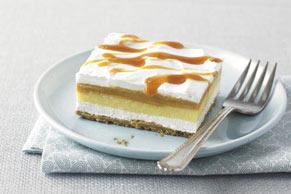 Crème Caramel Squares