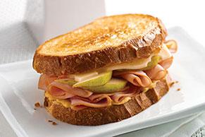 Apricot-Dijon Ham Griller