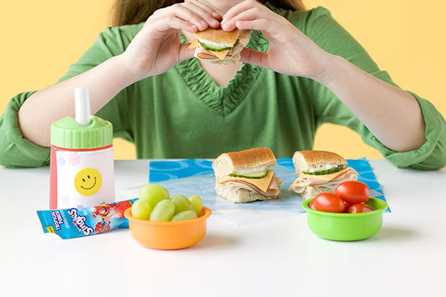 Lunch box Sub Sandwich Image 1