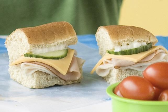 Lunch box Sub Sandwich Image 1