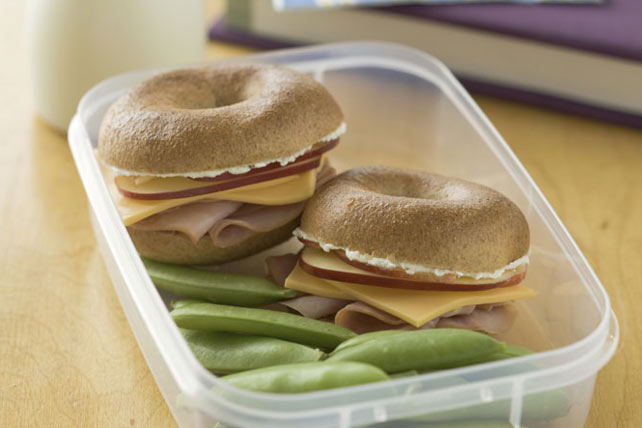Baby Bagel Sandwiches Image 1