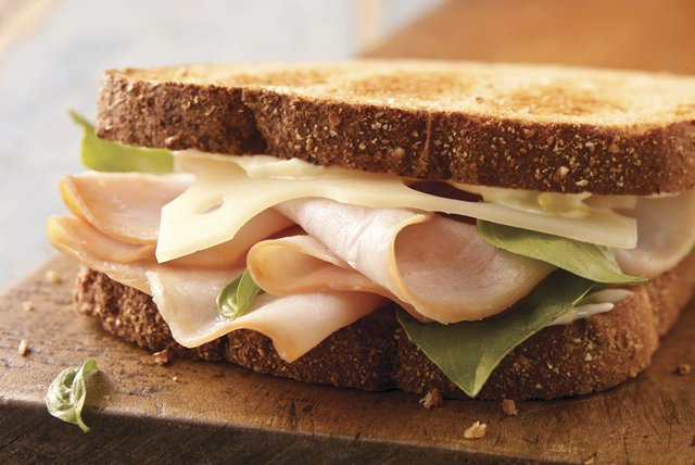 California Sun Turkey Sandwich Image 1