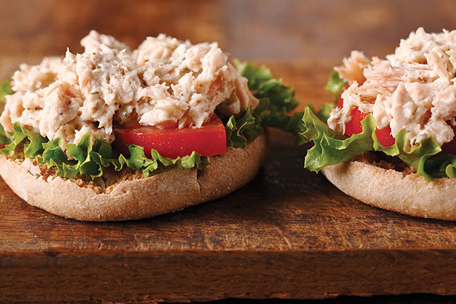 Herbed Tuna Salad Sandwich Image 1
