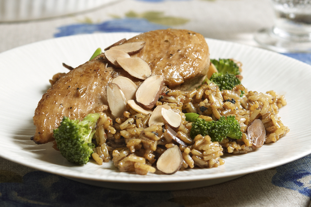 Almond Chicken and Rice Image 1
