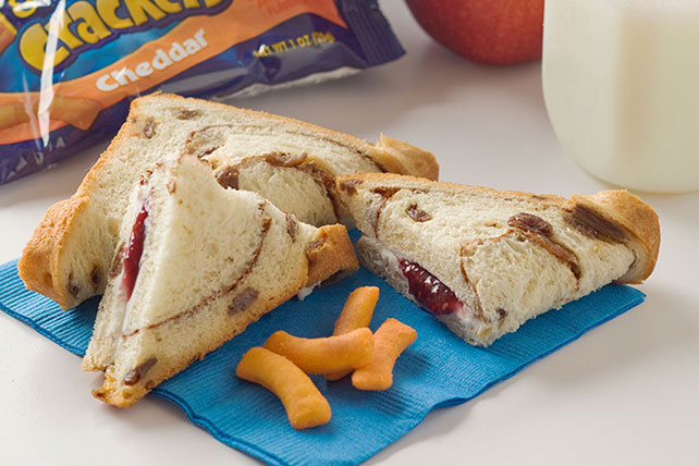 Cinnamon Raisin Fold-Over Sandwiches Image 1