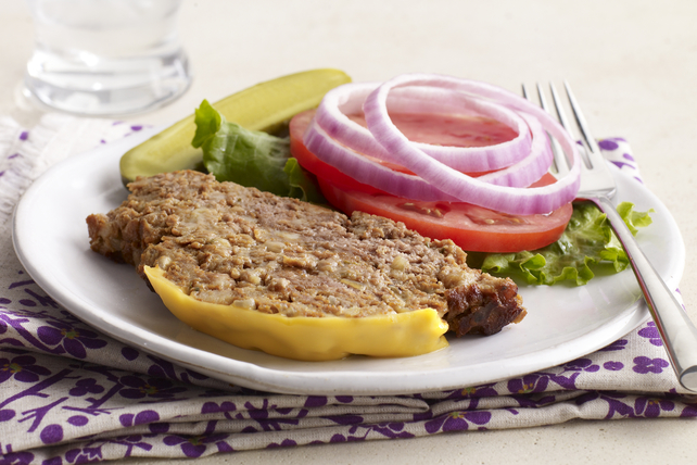 Slow-Cooker Cheeseburger Meatloaf Image 1