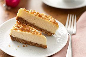 PHILADELPHIA Caramel-Nut Cheesecake