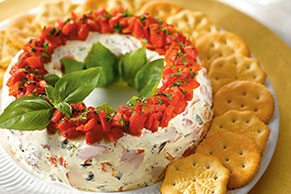 Antipasto Wreath