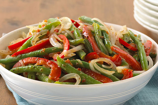 Fresh Peppers & Green Beans
