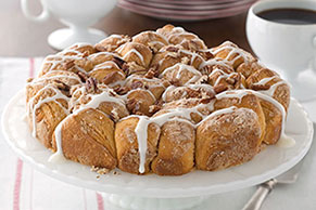 Pull-Apart Coffee Cake