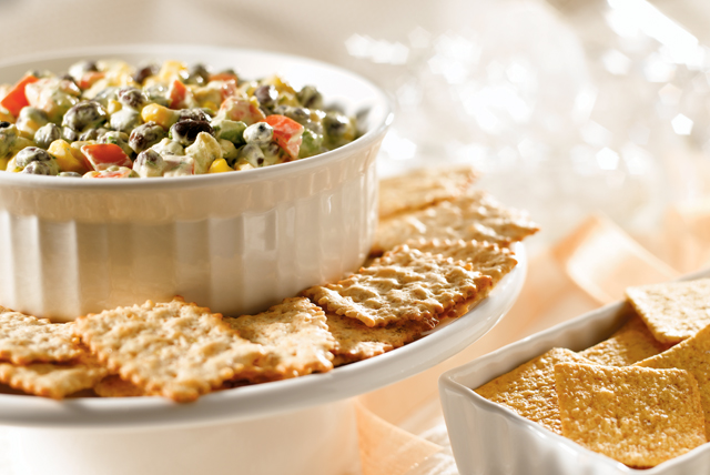 Southwest Avocado Bean Dip Image 1