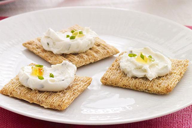 Pasta de queso crema con cebollinos a la naranja Image 1