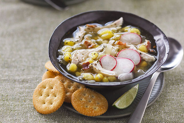 Turkey Pozole Soup