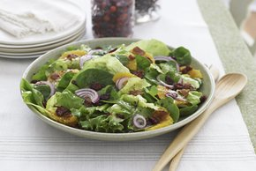 Citrus Salad with Bacon &  Red Onion