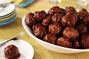 Mom's Mini Meatballs