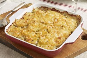 Leek and Potato au Gratin