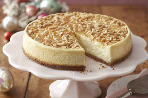 Caramel-Nut Cheesecake
