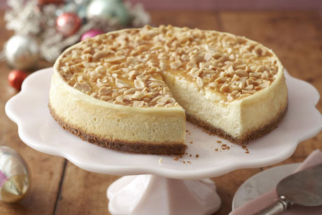 Caramel-Nut Cheesecake Image 1