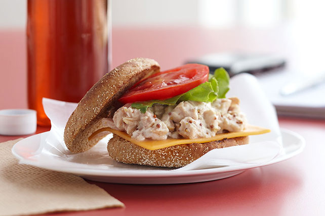 Lakeside Special: Tuna on Wheat